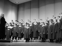 B&W Choir of the Titans I