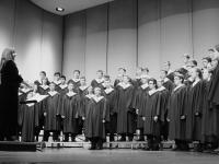 B&W Choir of the Titans I