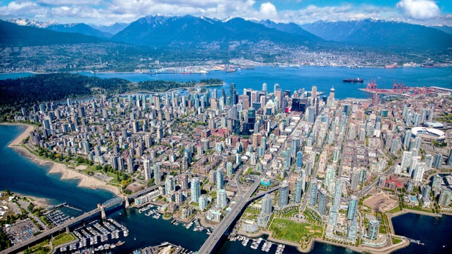 A view of Downtown Vancouver, Canada