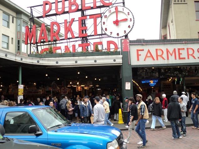 Pike Market, in Seattle