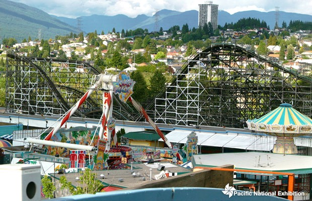 Rollercoasters at Playland